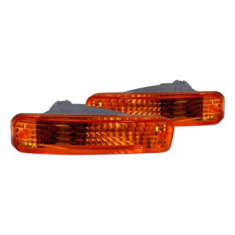 Spec-D® - Chrome/Amber Bumper Lights