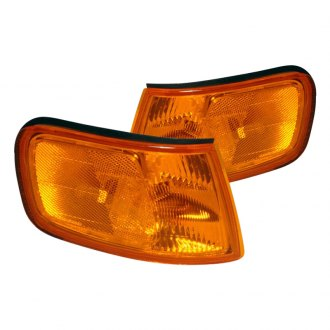 Spec-D® - Chrome/Amber Corner Lights