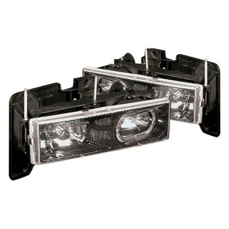 Spec-D® - Carbon Fiber Halo LED Euro Headlights