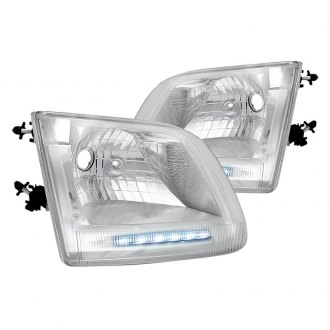 Spec-D® - Chrome Euro LED Headlights