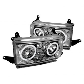 Spec-D® - Chrome Dual Halo LED Headlights