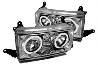 Spec-D® - Chrome Halo Headlights