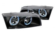 SPEC-D� - Black Dual Halo Headlights