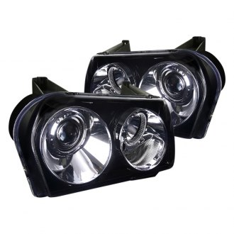 Spec-D® - Chrome/Smoke Projector Headlights
