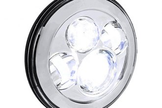 "Spec-D® - 7"" Round Chrome Projector LED Headlight"