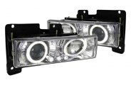 Spec-D® - Clear Halo Projector Headlights with LEDs