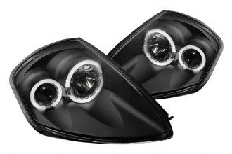 Spec-D® - Black Dual Halo Projector Headlights