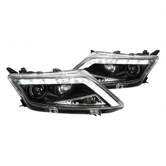 SPEC-D� - Black Halo Projector Headlights with R8 LED Style