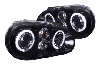 Spec-D® - Smoke Halo Projector Headlights