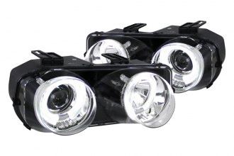 Spec-D® - Chrome Dual Halo Projector Headlights