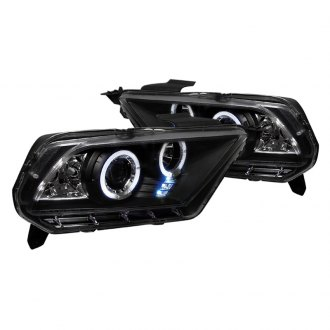 Spec-D® - Black Halo Projector LED Headlights