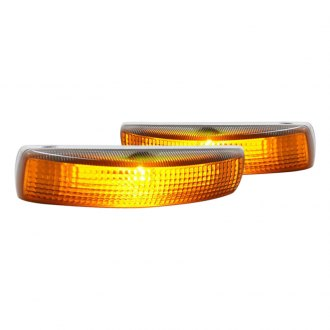 Spec-D® - Chrome/Amber Factory Style Side Marker Lights