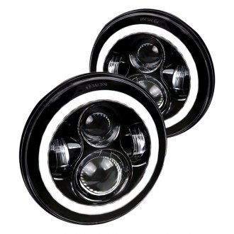 Spec-D® - Round Sealed Beam LED Headlights