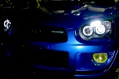 Spec-D® 2LHP-WRX05JM-TM - Black Halo Projector Headlights with LEDs - Installation Video 602x420