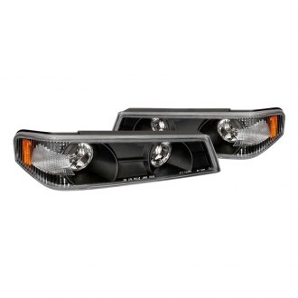 Spec-D® - Black Crystal Turn Signal/Parking Lights