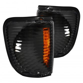 Spec-D® - Black Crystal Turn Signal/Corner Lights