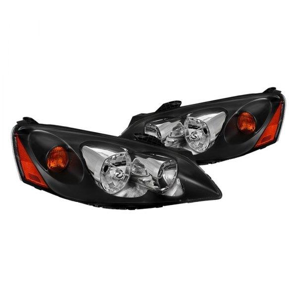 2006 Pontiac G6 Interior: Pontiac G6 2006 Black Factory Style Headlights