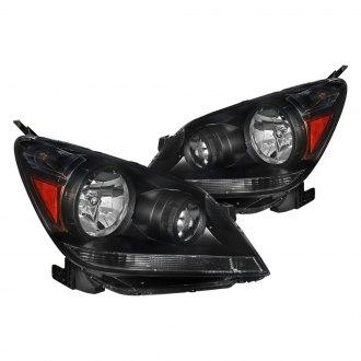 Spec D Black Euro Headlights