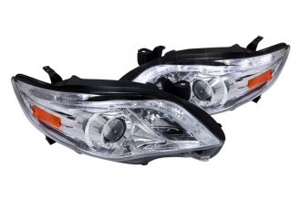 Spec-D® - Chrome Projector Headlights with R8 Style LEDs