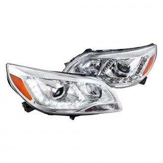 Spec-D® - Chrome Projector Headlights with LED DRL