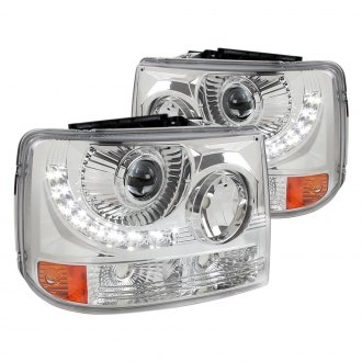 Spec-D® - Chrome Conversion Projector Headlights with LED DRL