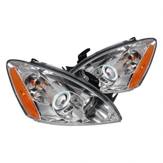 Spec-D® - Chrome CCFL Halo Projector Headlights