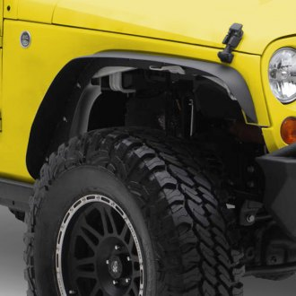 Spec-D® - Black Front and Rear Fender Flares