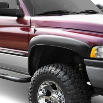 Spec-D® - Matte Black Front and Rear Fender Flares