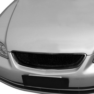 Spec-D® - 1-Pc Type R Style Mesh Main Grille