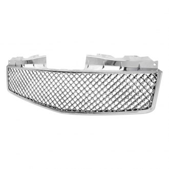 Spec-D® - 1-Pc Version 2 Chrome Mesh Main Grille