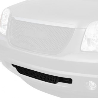 Spec-D® - Matte Black Round Punch CNC Machined Main Grille