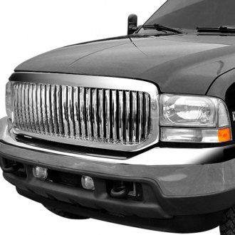 Spec-D® - Chrome Vertical Main Grille