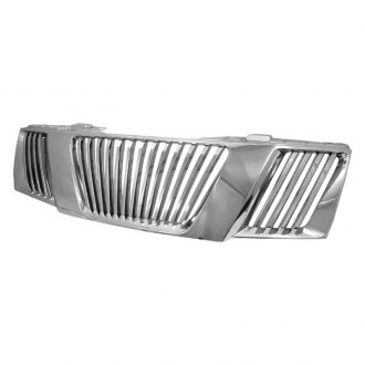 Spec-D® - Vertical Style Chrome Vertical Main Grille