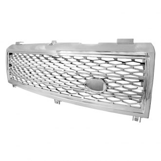 Spec-D® - Chrome Round Punch CNC Machined Main Grille