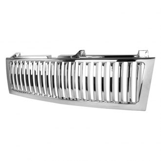 Spec-D® - 1-Pc Conversion Chrome Vertical Billet Grille