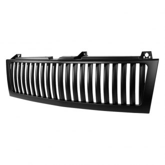 Spec-D® - 1-Pc Conversion Black Vertical Billet Grille