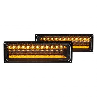 Spec-D® - Black LED Turn Signal/Parking Lights
