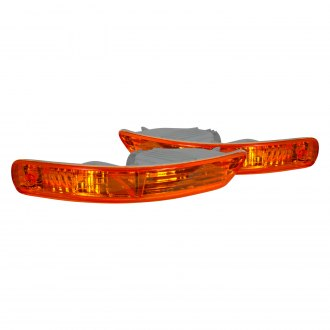 Spec-D® - Chrome/Amber Factory Style Turn Signal/Parking Lights