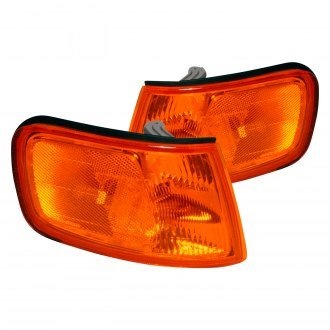 Spec-D® - Chrome/Amber Factory Style Turn Signal/Corner Lights