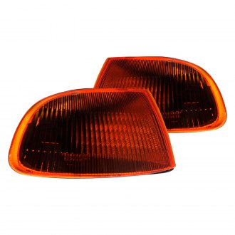 Spec-D® - Chrome Smoke/Amber Factory Style Turn Signal/Corner Lights