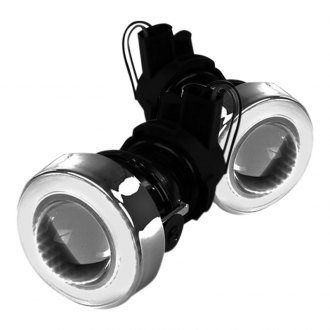 "Spec-D® - 3"" Round Halo Projector LED Fog Lights"