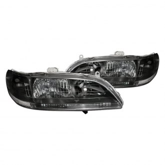 Spec-D® - Black/Chrome Euro Headlights