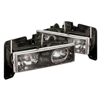 Spec-D® - Carbon Fiber LED Halo Euro Headlights