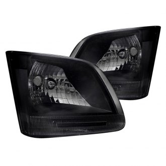 Spec-D® - Black/Smoke Euro Headlights