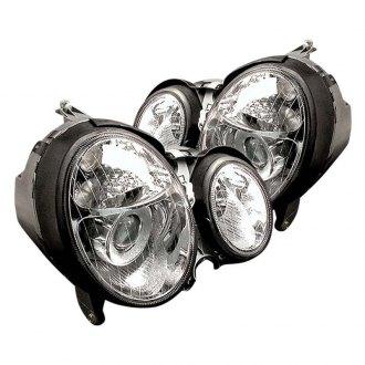 2000 Mercedes E Class Custom & Factory Headlights – CARiD com