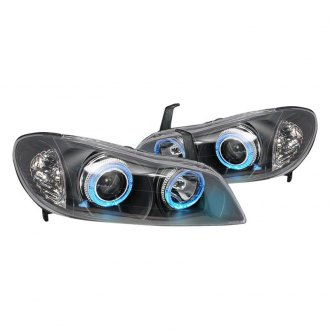 Spec-D® - Black LED Halo Projector Headlights