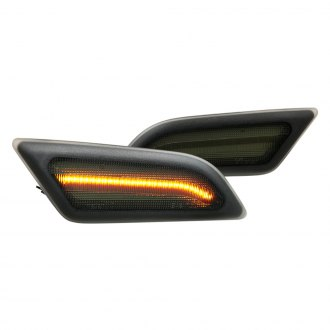 Mercedes C Class Side Marker Lights   LED, Clear, Smoked