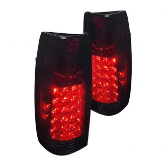 Spec-D® - Black Red/Smoke LED Tail Lights