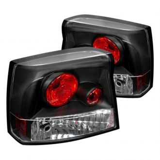 Spec-D® - Black/Chrome Red Euro Tail Lights