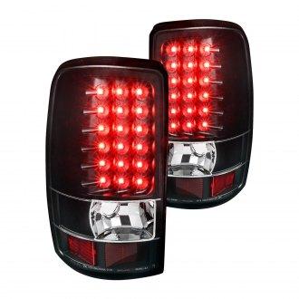 Spec D Black Led Tail Lights